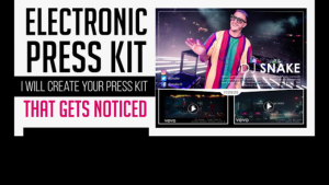 Electronic Press Kit helps to promote music digitally